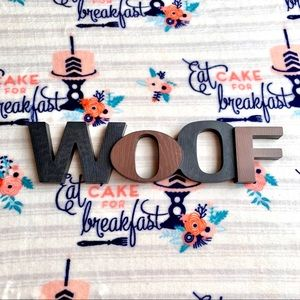 Other - 🐕 Dog Woof Home Sign 🐕